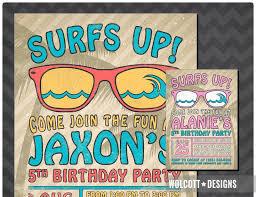 7 best summer birthday invitations images on pinterest birthday