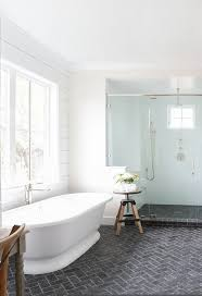 White Bathroom Tile Designs Best 25 White Brick Tiles Ideas On Pinterest Brick Tiles