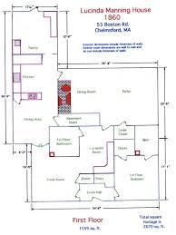 10050 cielo drive floor plan the 1860 lucinda manning house for sale in massachusetts house