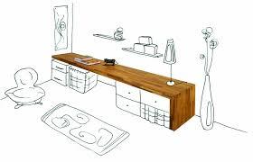 plan de travail bureau bureau flip design boisflip design bois