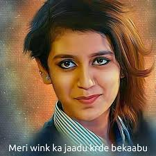 Wink Face Meme - indiwink just wink and spread the shine around priyaprakash