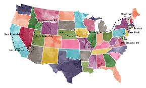 road trip map of usa maps update 86345898 travel maps usa travel map of usa maps