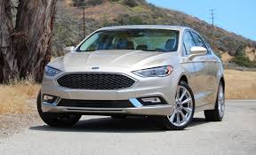 picture ford fusion 2017 ford fusion platinum drive review car and driver