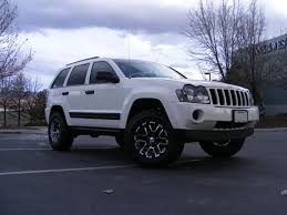 custom jeep white 1oneseven7 2006 jeep grand cherokee specs photos modification
