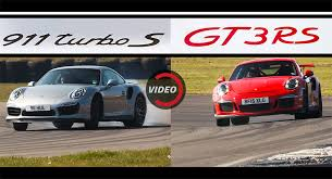 gt3 turbo porsche porsche 911 turbo s and gt3 rs identical times in evo test