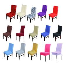 online buy wholesale plastic dining chair covers from china 1pc home chair cover wedding decoration various colors polyester spandex dining chair covers for wedding party