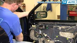 how to install replace broken side rear view mirror toyota corolla
