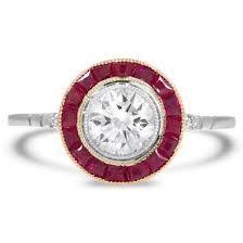 art deco engagement rings brilliant earth antique rings