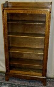 old glass doors oak bookcases with glass doors foter