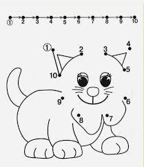 free dot to dot worksheets for kids part 2 vor schule