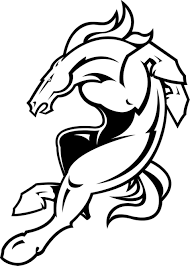 denver broncos coloring page download coloring pages broncos