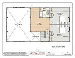 Loft Home Floor Plans Barn House Plans With Loft Second Floor Plan House Dreams