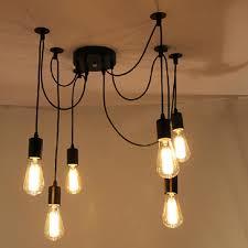 Diy Chandelier Ideas by Wonderful Diy Chandelier Lamp Lamp Shade Chandelier Diy Design And