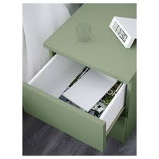 Malm Side Table Malm Chest Of 2 Drawers Light Green 40x55 Cm Ikea