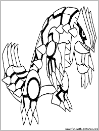 groudon coloring pages groudon pokemon coloring page free