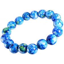 blue bead bracelet images Fashion bracelets aune blue beads bracelet jpg