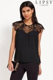 the shoulder black blouse lipsy tops lipsy lace cold shoulder tops for uk