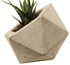 geodesic planter modern indoor pots and planters by rough fusion