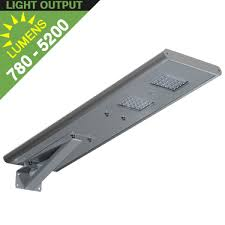self contained motion detector light solar street car park area lights