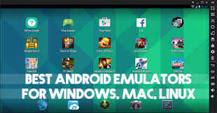 android emulators best android emulators pc windows mac linux