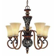 hton bay chateau deville 3 light walnut bowl pendant hton bay 5 light caffe patina chandelier 17009 at the home