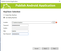 sign apk publish your android app to play store