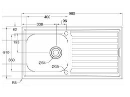 2017 standard kitchen sink size ideas photos