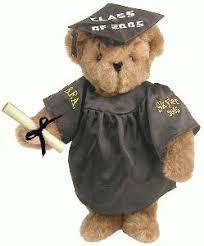 graduation bears dear teddy cuddly yours bears by occasion graduation 15