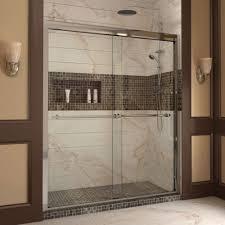 Frame Shower Door Bathroom Fancy Frame Sliding Glass Shower Doors Decor