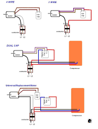 wiring diagrams capacitor for goodman ac unit central air