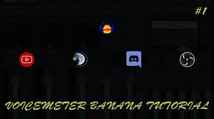 discord tutorial voicemeeter banana tutorial 1 obs teamspeak discord 1pc stream