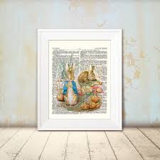peter rabbit nursery peter rabbit name picture print art peter rabbit nursery 5