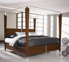how to dress a four poster bed hunker