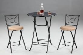 Folding Bar Table Folding Pub Table In Black Color U2013 Home Design And Decor