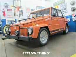 vw kubelwagen for sale 1973 volkswagen thing for sale classiccars com cc 946847