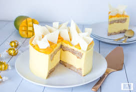 mango and white chocolate mousse cake delectable lindt recipes