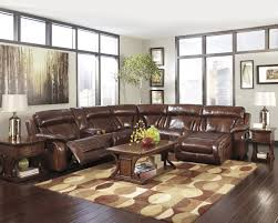 sofa faux leather sectional sofa ashley brown bonded leather