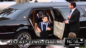 infiniti qx56 limo white diamond limo youtube