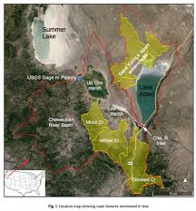 Great Basin Usa Map by Paper U0027recent Desiccation Of Western Great Basin Saline Lakes