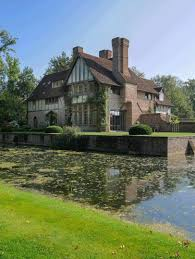 beautiful manor house in english tudor architecture by boens