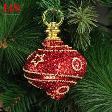 christmas tree decorations ornaments 8cm foam adhesive red onion