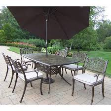 Patio Umbrellas On Clearance by 7 Piece Patio Dining Sets Clearance Gallery Dining