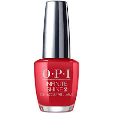 opi infinite shine nail lacquer big apple red is ln25 15ml