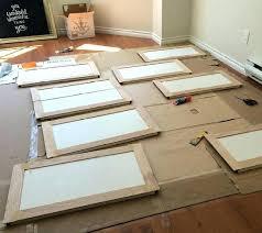 make shaker cabinet doors building shaker cabinet doors easiest way to build your own frame