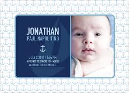 birth announcements nautical birth announcements invitation crush