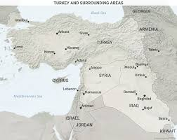 Map Of Syria And Surrounding Countries by Turkey Faces Serious Obstacles In Syria And Iraq Geopolitics