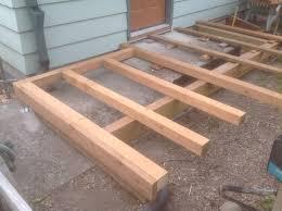 cedar deck installation archives bragg construction