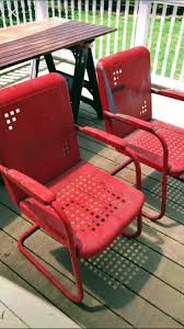 Old Fashioned Metal Outdoor Chairs by 174 Best Vintage Metal Porch Chairs Images On Pinterest Vintage