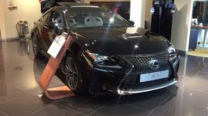 2017 lexus rc luxury sedan 2017 lexus rc f sports coupe exterior and interior review youtube
