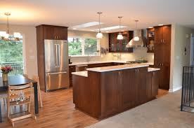 interior design for split level homes bothell split level home kitchen remodel transitional kitchen